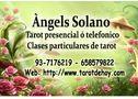 Angels solano tarot, 20 años de oficio me avalan 937176219