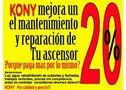Manteniment d'ascensors barcelona fins a 50% menys, kony. - En Barcelona